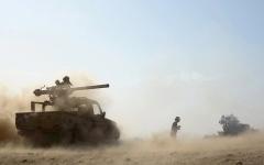 الصورة: اشتداد المعارك في جبهات غرب مأرب وشرق الجوف