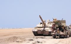الصورة: الإمارات تدين محاولة «الحوثيين» استهداف خميس مشيط بطائرة مفخخة