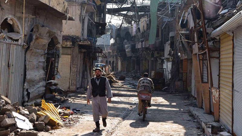 إعادة بناء الموصل مهمة شباب الجيل الجديد.   أرشيفية