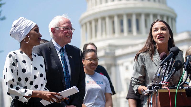 الجناح التقدمي في الحزب الديمقراطي يضغط لتغيير سياسة واشنطن تجاه إسرائيل.   أرشيفية