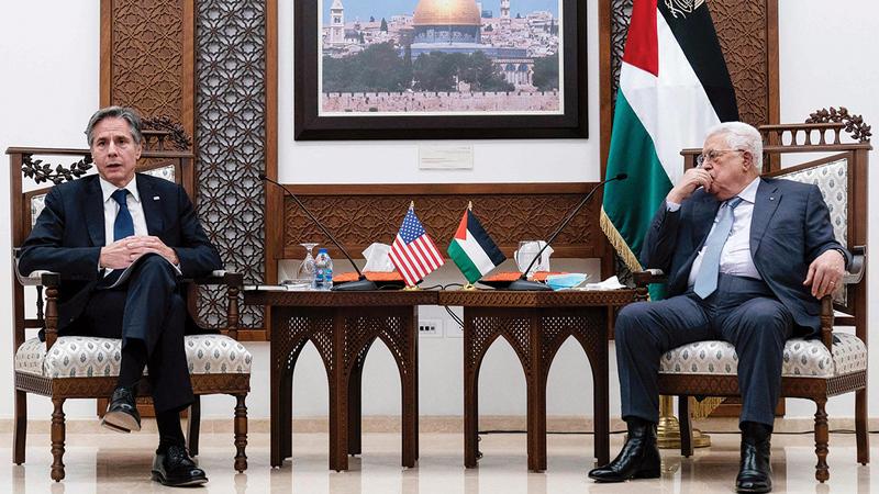 الإدارة الأميركية تحاول تبني خطابا أكثر اعتدالاً في الشرق الأوسط.  أ.ف.ب