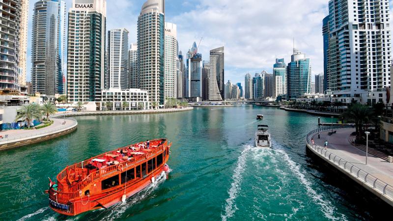 5800 مستثمر عقاري في دبي خلال الربع الأول من عام 2021.   أرشيفية