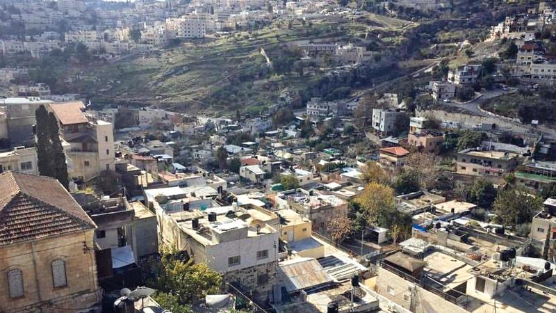 حي «بطن الهوى» الحارة الوسطى من حارات بلدة سلوان.  الإمارات اليوم