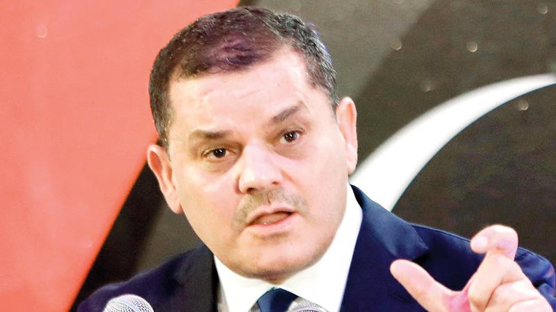 عبد الحميد الدبيبة طلب تسهيل الإجراءات اللازمة لانسياب الحركة على البوابات الحدودية بين الجانبين.   أرشيفية