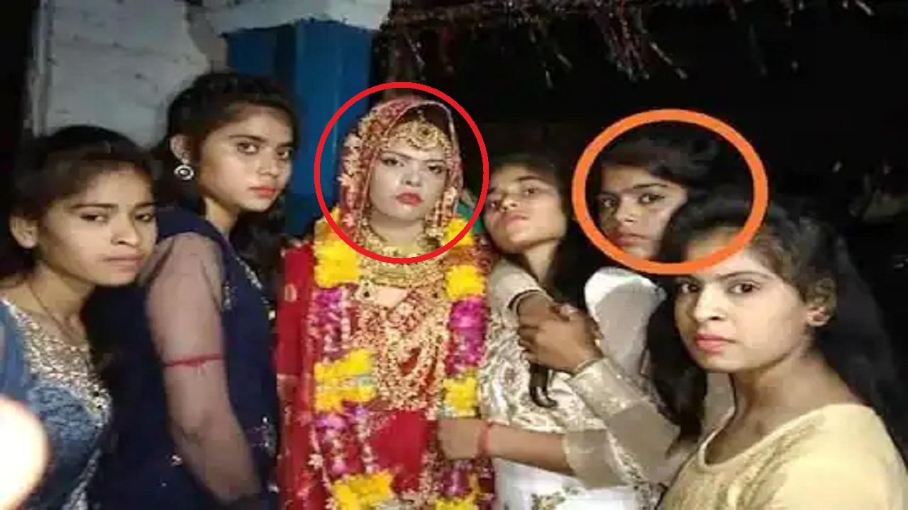 العروس المتوفاة في المنتصف وتظهر أختها التي تحولت إلى عروس بديلة.