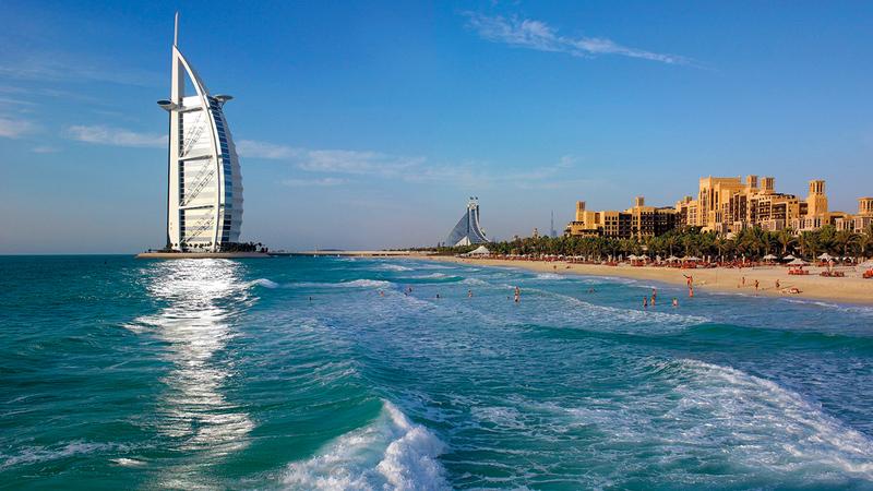 بيانات السياح القادمين إلى دبي سلطت الضوء على مرونة الإمارة خلال فترة الانتشار السريع للوباء على مستوى العالم.  أرشيفية
