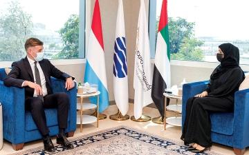 الصورة: لوكسمبورغ تُهدي جناحها في «إكسبو 2020 دبي» إلى الإمارات