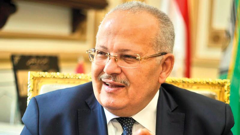 محمد عثمان الخشت مؤلف الكتاب.