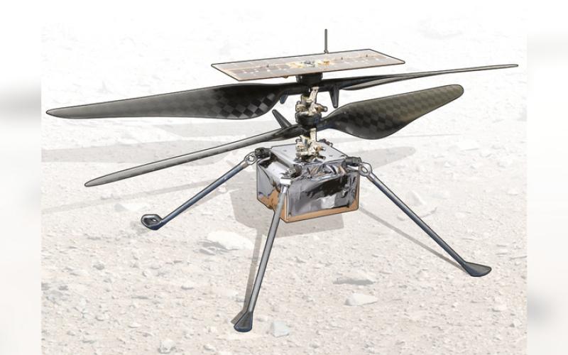 الصورة: غرافيك.. «إنجنيوتي» تدخل التاريخ من على سطح المريخ