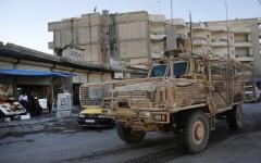 الصورة: 6 قتلى خلال احتجاجات في مدينة منبج شمال سورية