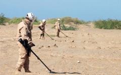 الصورة: 39 قتيلاً بنيران وألغام الحوثيين في الساحل الغربي