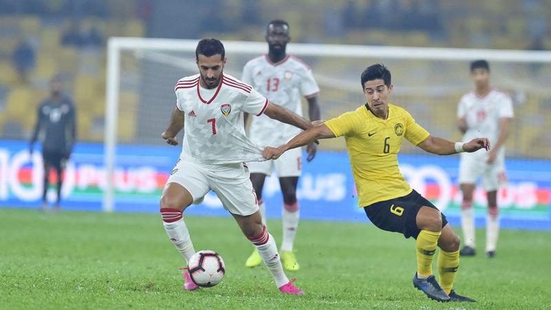 المنتخب فاز على ماليزيا في لقاء الذهاب 2-1 بالتصفيات المزدوجة.  أرشيفية