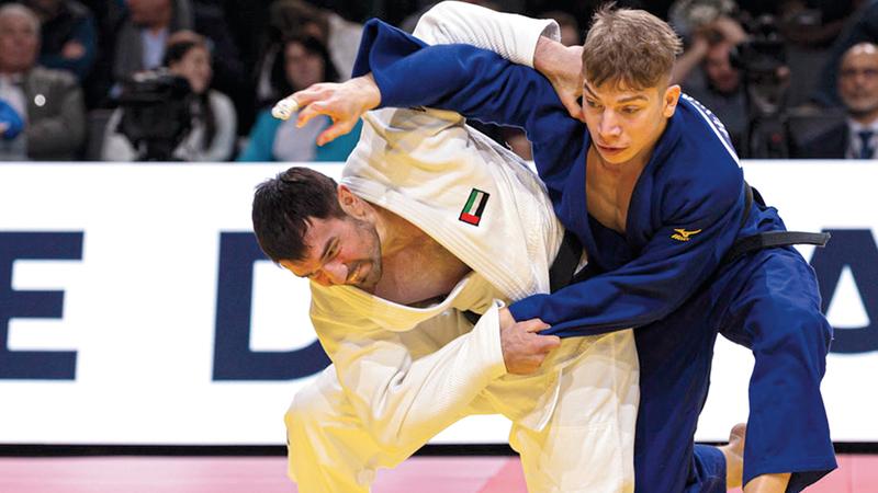 منتخب الجودو عينه على منصات التتويج في الدورة الأولمبية المقبلة.  من المصدر