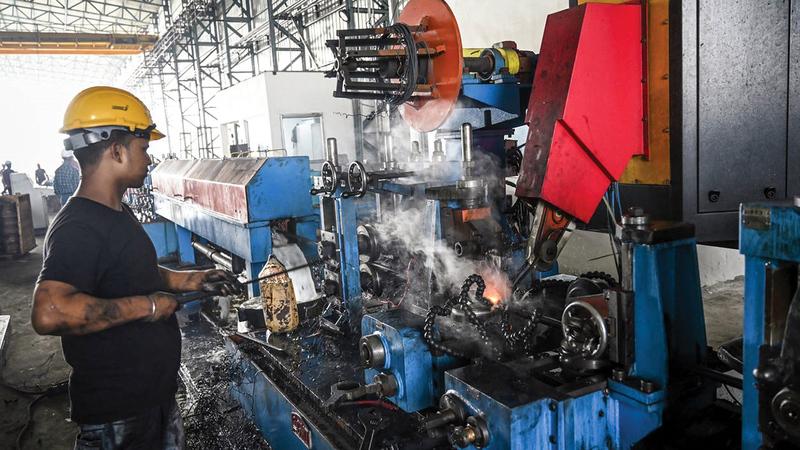الأداء الصناعي الهندي تراجع بشكل ملحوظ في السنوات الأخيرة.  أرشيفية