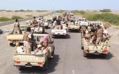 الصورة: الجيش اليمني يدمر تحصينات للحوثيين في جبهات غرب مأرب