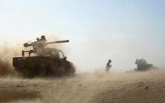 الصورة: تقدم نوعي للجيش اليمني في الجوف ومأرب