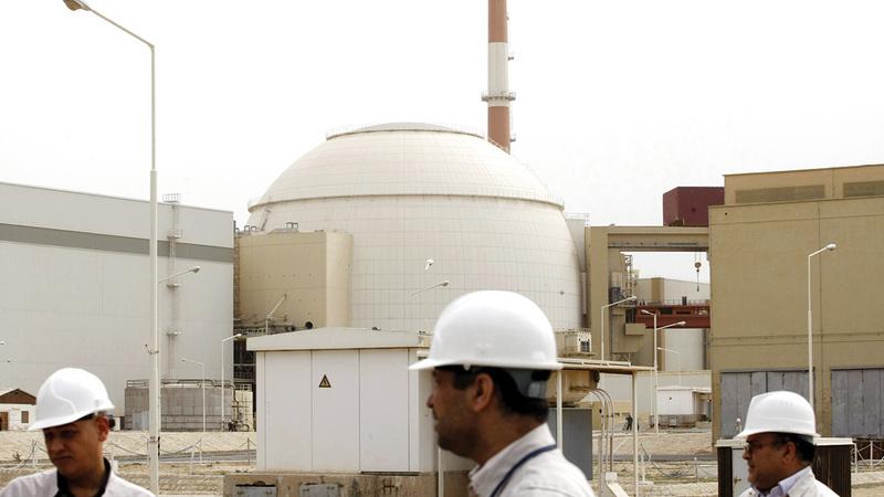 إيران حاولت تطوير مفاعلاتها النووية عن طريق إقامة علاقات مع دول متطورة نووياً بهدف الحصول على السلاح النووي.   أ.ف.ب