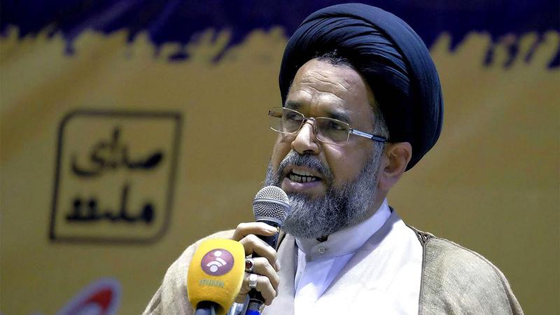 محمود علوي قال: الفتوى تحرم إنتاج السلاح النووي ولكن إذا تم دفع إيران إلى إنتاج السلاح النووي فإنه ليس خطأها.   أرشيفية