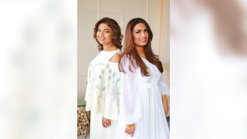 نادية ولبنى الزكواني بدأتا بخلفية أكاديمية في عالم تصميم الأزياء من «إسمود دبي». من المصدر