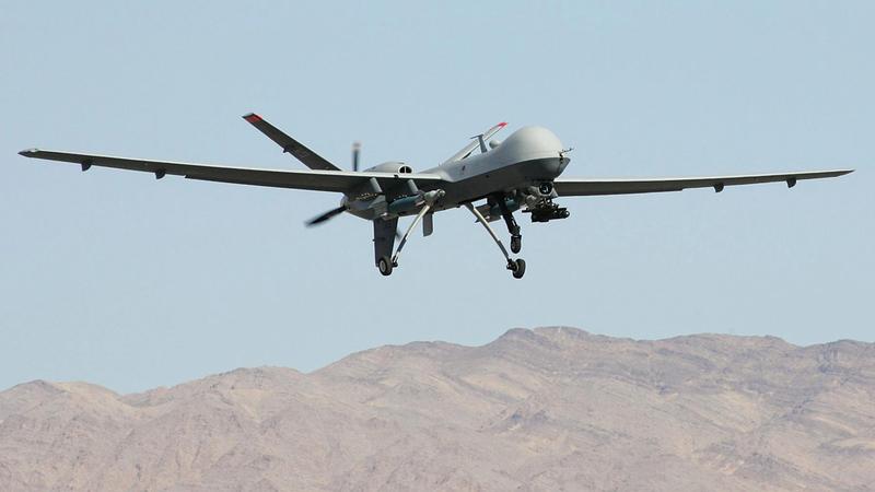 طائرات الدرون على الرغم من فشلها في الفلوجة استخدمها الرئيس باراك أوباما لقصف باكستان وأفغانستان والعراق.   أرشيفية
