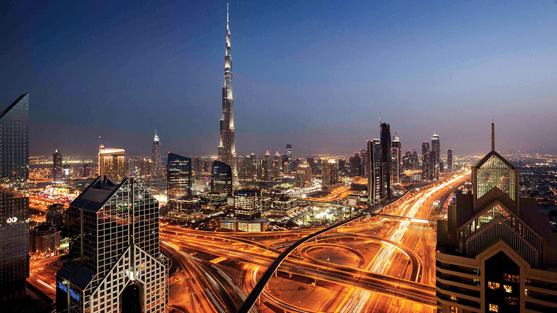 دبي حافظت على دورها الفعال بوابة للأسواق الناشئة في المنطقة.   أرشيفية