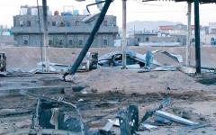 الصورة: ميليشيات الحوثي تقر بارتكاب «مجزرة الوقود» في مأرب