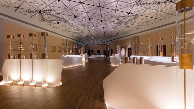 متحف بيت العطور يحتفي بتاريخ الطيب في الإمارات.   أرشيفية