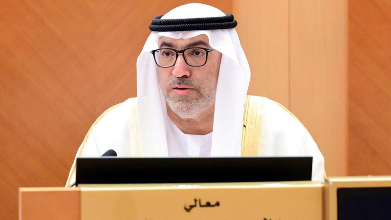 العويس أجاب عن 4 أسئلة لأعضاء المجلس الوطني.   من المصدر