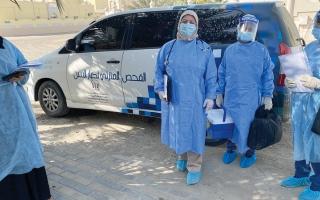 الصورة: 35 وحدة صحية لخدمة كبار المواطنين بالمنازل في الشارقة