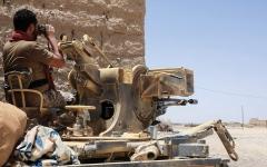 الصورة: الإمارات تدين استهداف «الحوثيين» محطة وقود في مأرب بصاروخ وطائرات مفخّخة