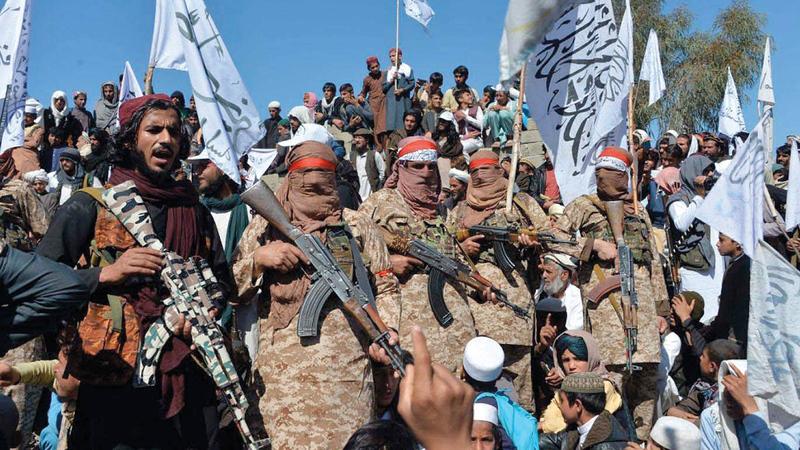 مواصلة باكستان دعمها لـ«طالبان» أسهم في توتير العلاقات مع الولايات المتحدة.   أرشيفية