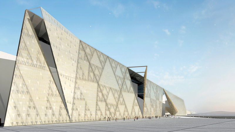 سيضم المتحف بين جنباته نحو 100 ألف قطعة أثرية.  أرشيفية