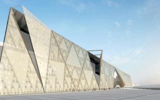 الصورة: المتحف المصري الكبير.. رمسيس الثاني يرحب بالزوار