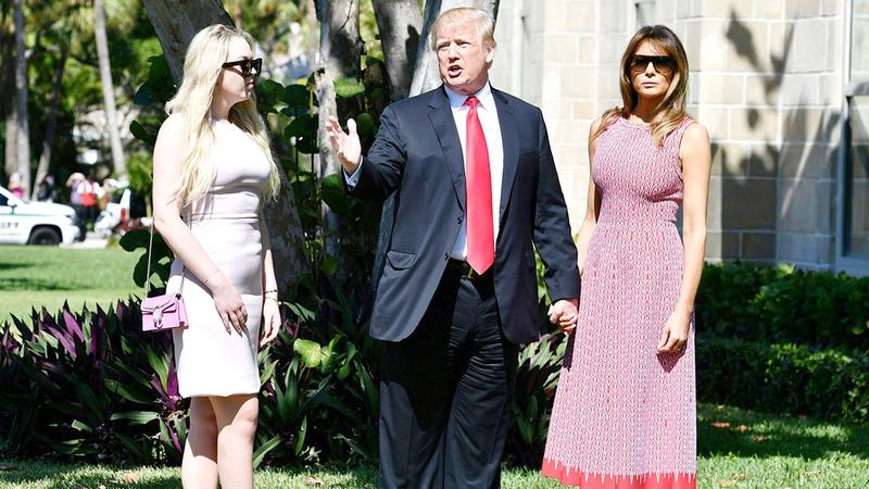 بنطال ترامب يثير الجدل. غيتي