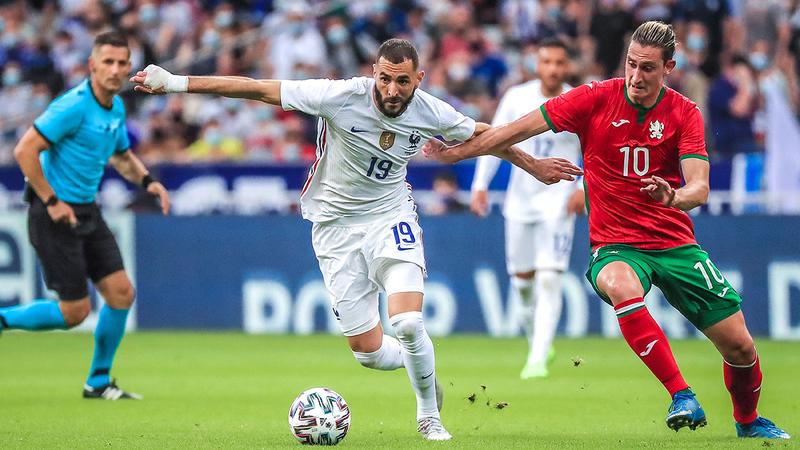 بنزيمة يستعد لأول ظهور مع فرنسا منذ سنوات.  إي.بي.إي