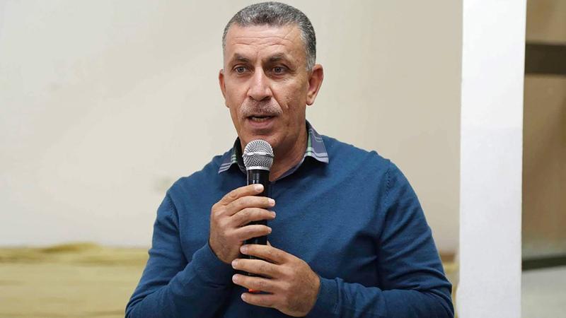 مدير هيئة مقاومة الجدار والاستيطان مراد شتيوي. À الإمارات اليوم