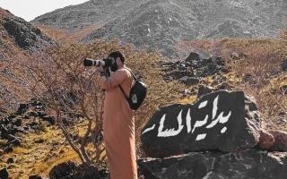 الصورة: 10 آلاف درهم غرامة «ذكريات» المرور في المسارات الجبلية