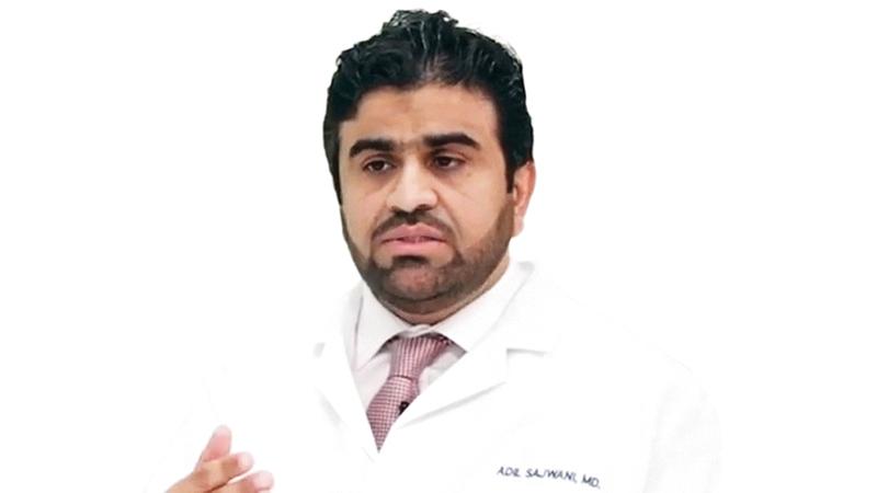 عادل سجواني: «علاج (كورونا) الجديد يعكس استباقية الدولة في مكافحة الجائحة».