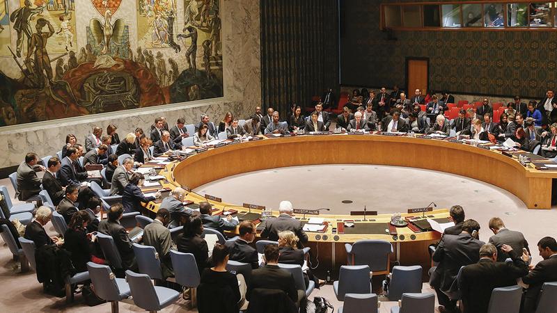 عضوية الإمارات في مجلس الأمن تعد إنجازاً مهماً للدبلوماسية الإماراتية.    أرشيفية