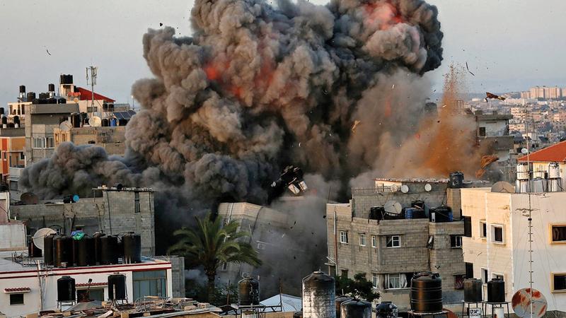 الجولة الأخيرة من الصراع أظهرت الحاجة الملحّة لتغيير السياسة الأميركية تجاه تل أبيب.  أرشيفية