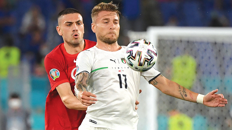 صورة أرقام إيطالية ترعب أوروبا.. وتركيا أولى «الضحايا» – رياضة – عربية ودولية