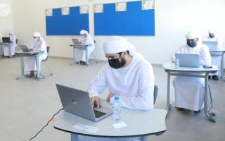 الصورة: «الإمارات للتعليم»: امتحان الرياضيات راعى مستويات الطلبة