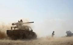 الصورة: إفشال هجمات حوثية في جبهات خنجر الجوف وكسارة مأرب
