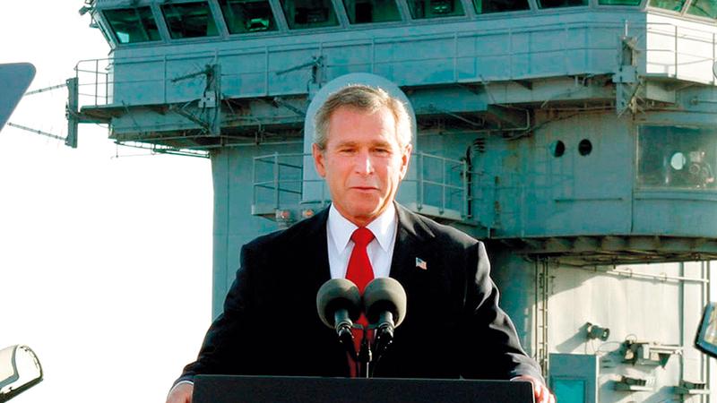 قادة سياسيين في إسرائيل عارضوا غزو العراق في البداية.   أرشيفية