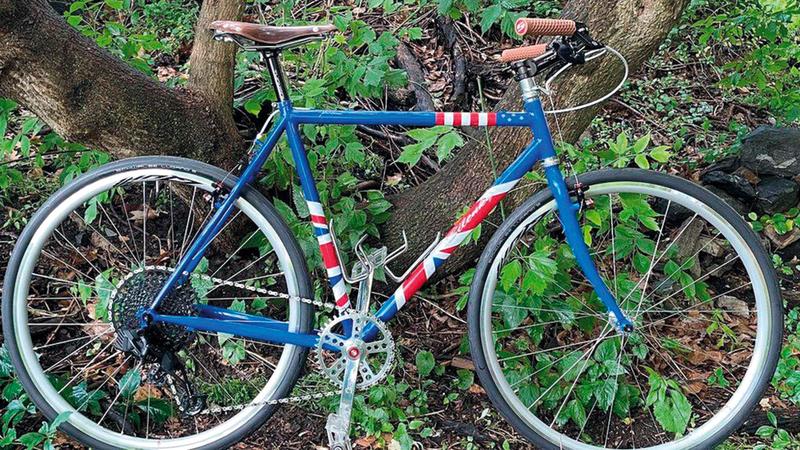 الدراجة الهدية.  من المصدر