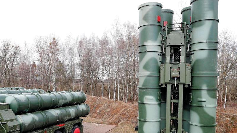 صفقة الصواريخ «إس400» ليست السبب الوحيد لتوتر العلاقة الأميركية - التركية.   أرشيفية