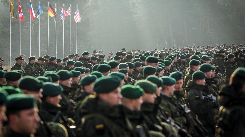 «الناتو» لا يمكنه الاستغناء عن القوات التركية.   أرشيفية