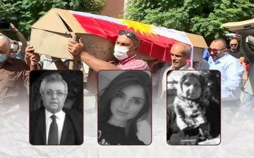 """الصورة: """"الإعدام شنقا 3 مرات"""" لقاتل شيلان دارا.. ذبحها ووالديها في منزلهم بغرض السرقة"""