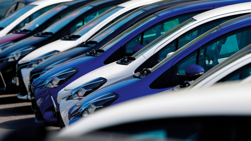 من المتوقع أن تشهد الفترة بين 2021 و2025 أداءً منتظماً إيجابياً في أسواق السيارات بالدولة.   أرشيفية