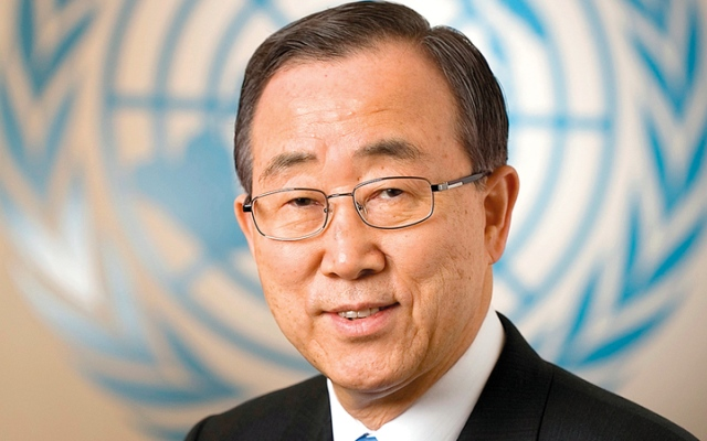 الصورة: إنترفيو.. كي مون: الأمم المتحدة لها دور تلعبه في حل مشكلات العالم